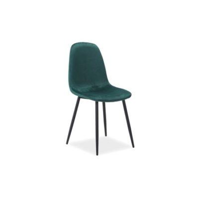 Židle FOX černá/zelená