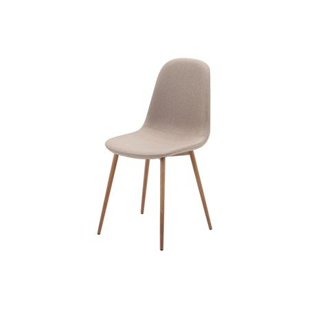 Židle FOX dub/béžová