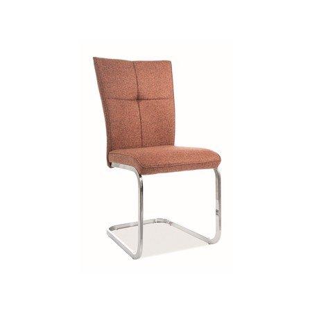 Židle H190 chrom/okrová