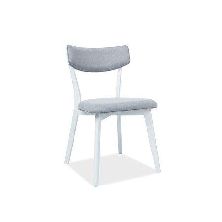 Židle KARL bílá/šedá
