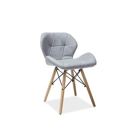 Židle MATIAS II buk/šedá