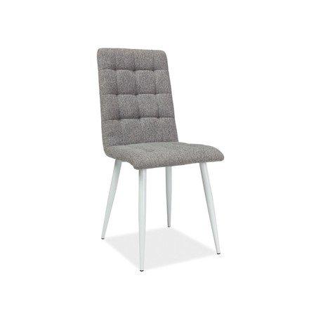 Židle OTTO bílá/šedá