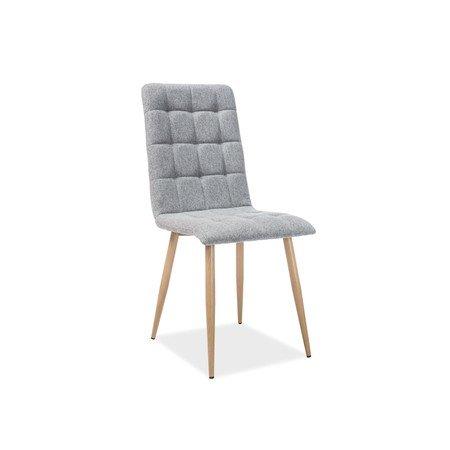 Židle OTTO dub/šedá