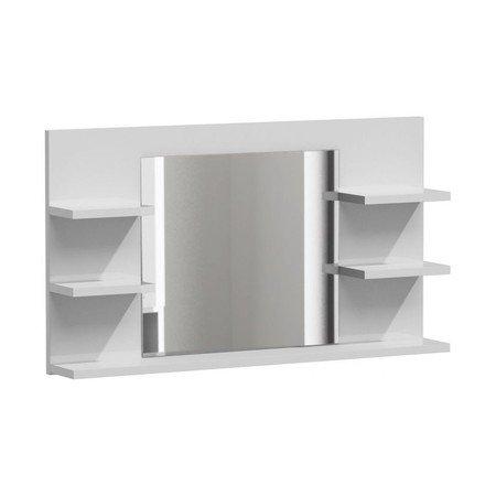 Zrcadlo do koupelny LUMO L5 bílý mat