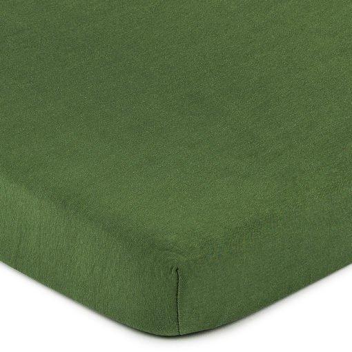 4Home jersey prostěradlo olivově zelená