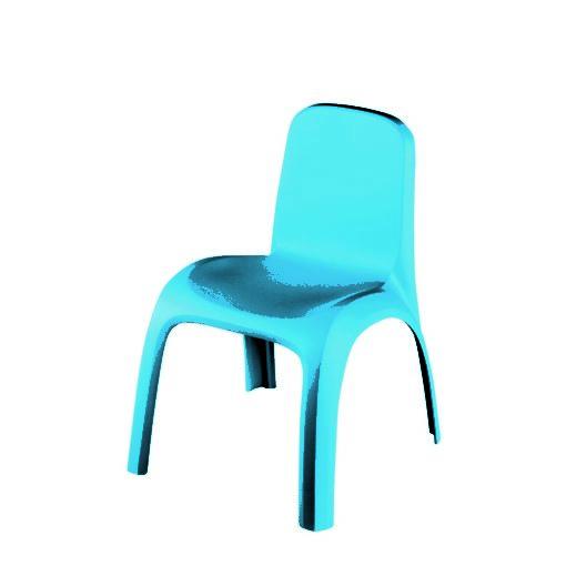 Keter Dětská židle modrá