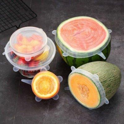 4Home Silikonová víčka na potraviny Fresh