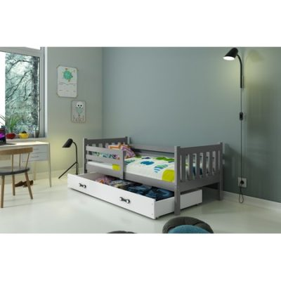 Dětská postel CARINO 190x80 cm Bílá