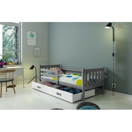 Dětská postel CARINO 190x80 cm Šedá