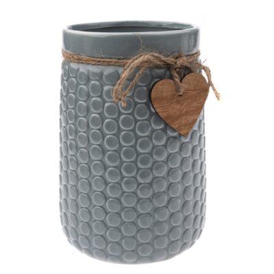 Keramická váza Heart