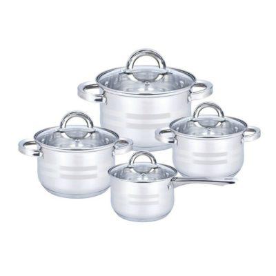 Altom 8dílná sada nerezového nádobí Remo