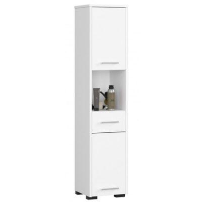 Koupelnová skříňka Fin 2D 1SZ 1W bílá