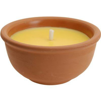 Repelentní svíčka Citronella v keramickém obalu