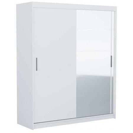Skříň FARO 180 cm bílá