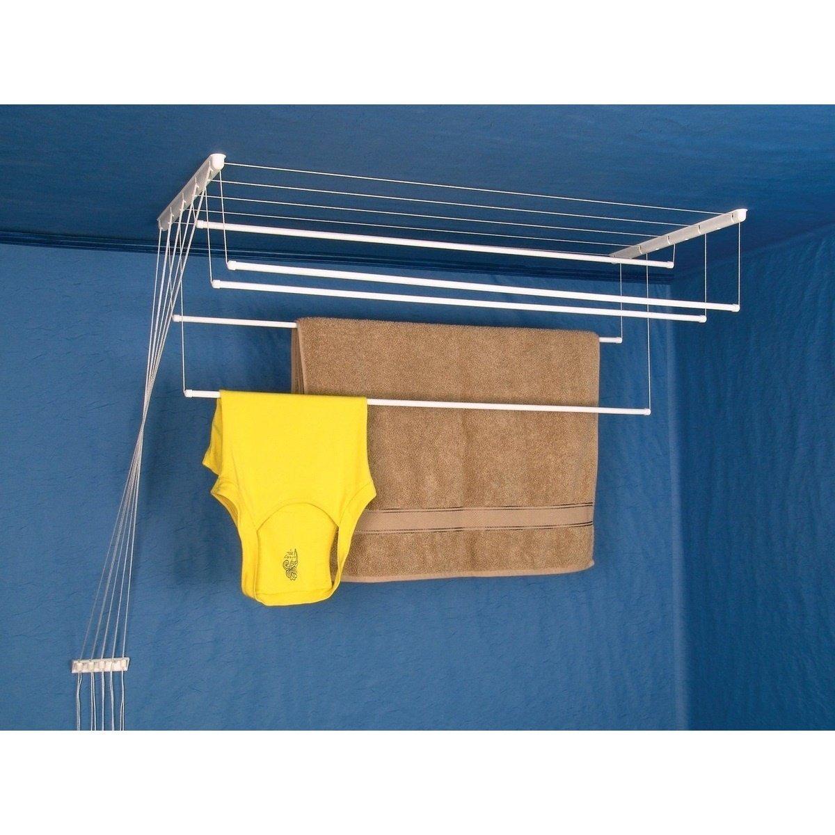 Stropní sušák na prádlo Ideal 7 tyčí