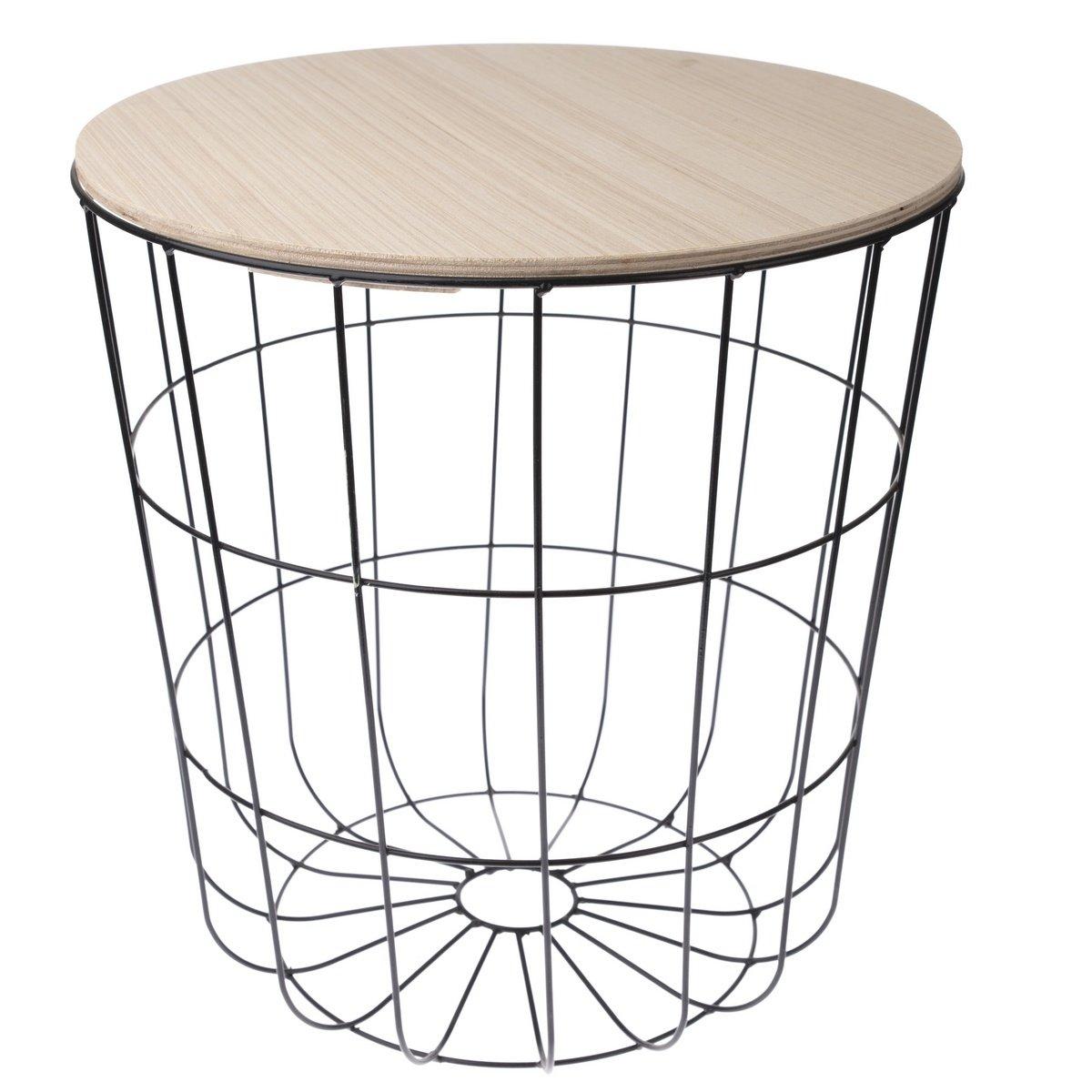 Odkládací stolek Kilenny černá