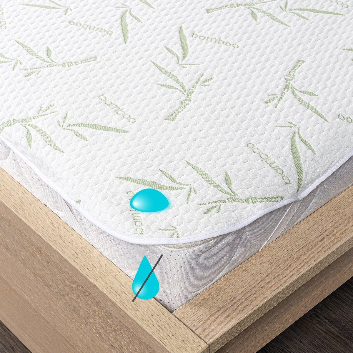 4Home Bamboo Nepropustný chránič matrace s gumou