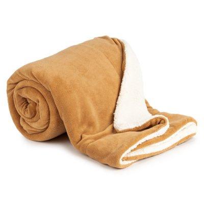 4Home Beránková deka hnědá