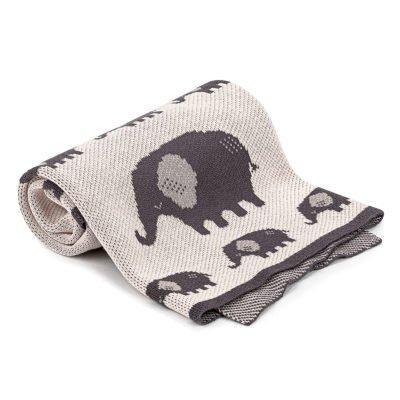 4Home Dětská bavlněná deka Elephant