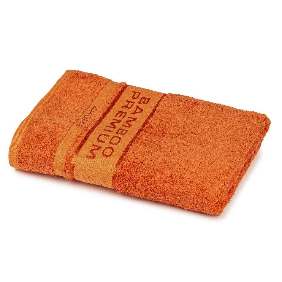 4Home Osuška Bamboo Premium oranžová