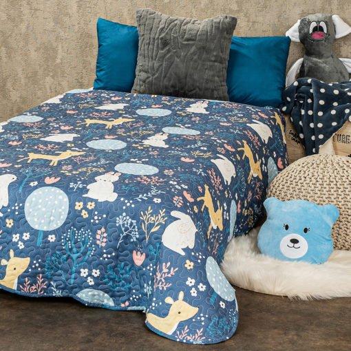 4Home Dětský přehoz na postel Nordic Woodland