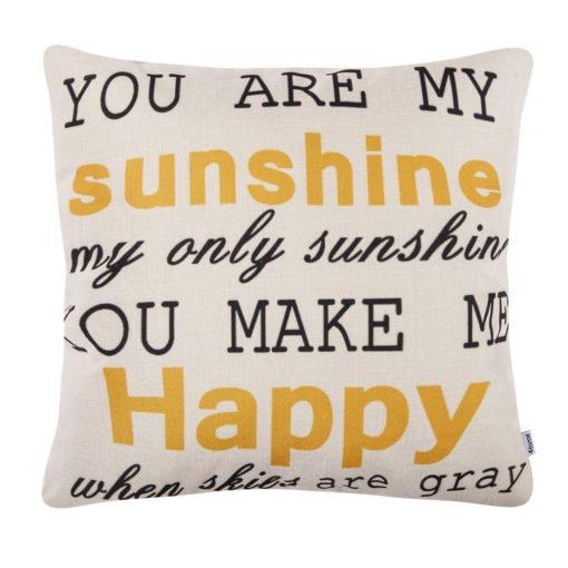 4Home Povlak na polštářek My Sunshine