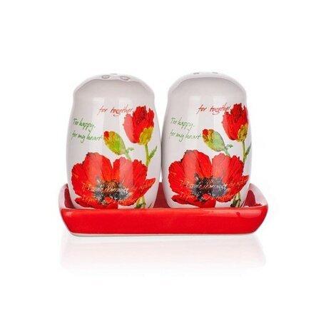 BANQUET Slánka a pepřenka Red Poppy