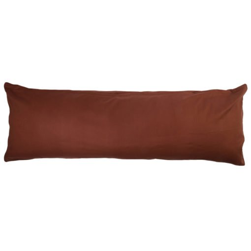 4Home povlak na Relaxační polštář Náhradní manžel tmavě hnědá