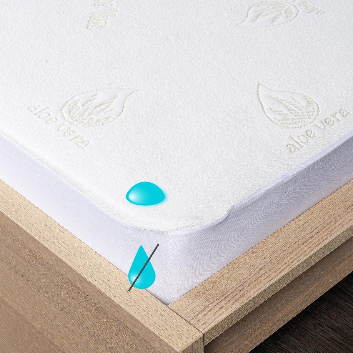 4Home Aloe Vera Nepropustný chránič matrace s lemem