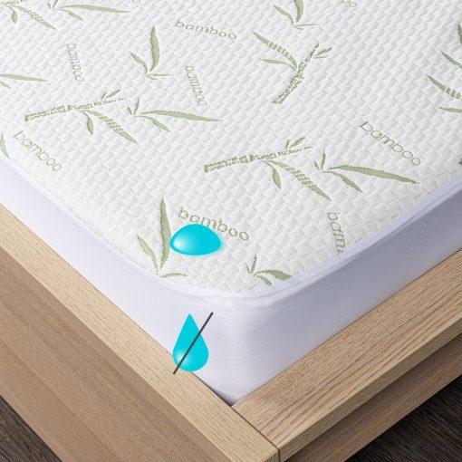 4Home Bamboo Nepropustný chránič matrace s lemem