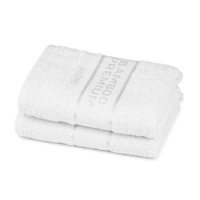 4Home Bamboo Premium ručník bílá
