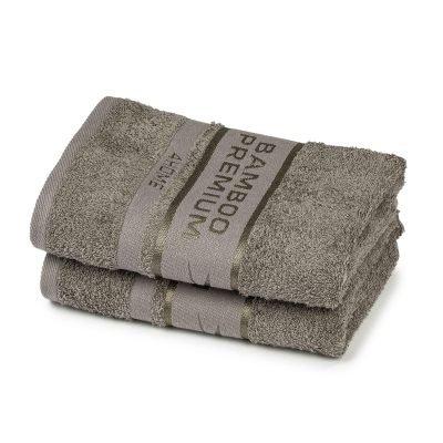 4Home Bamboo Premium ručník šedá