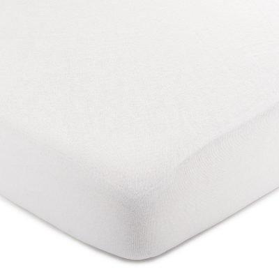 4Home Jersey prostěradlo bílá
