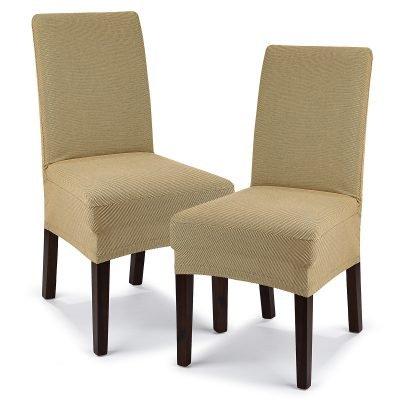 4Home Multielastický potah na židli Comfort béžová
