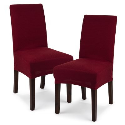 4Home Multielastický potah na židli Comfort bordó
