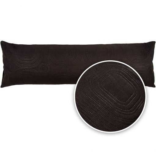 4Home Povlak na relaxační polštář Náhradní manžel Doubleface černá