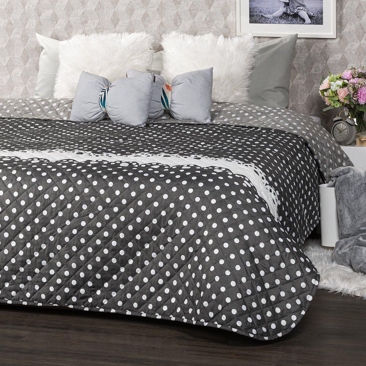 4Home Přehoz na postel Dots