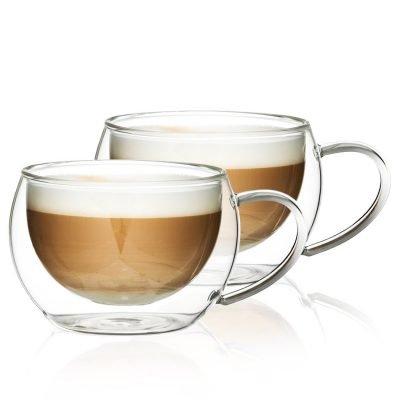 4Home Termo sklenice na cappuccino Hot&Cool 280 ml