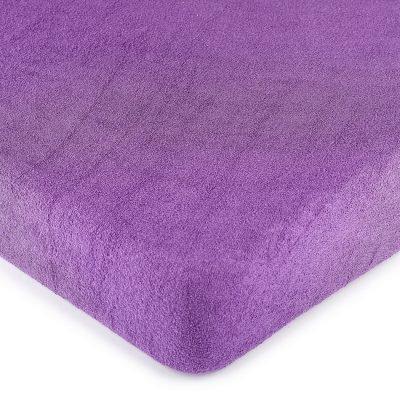 4Home froté prostěradlo fialová