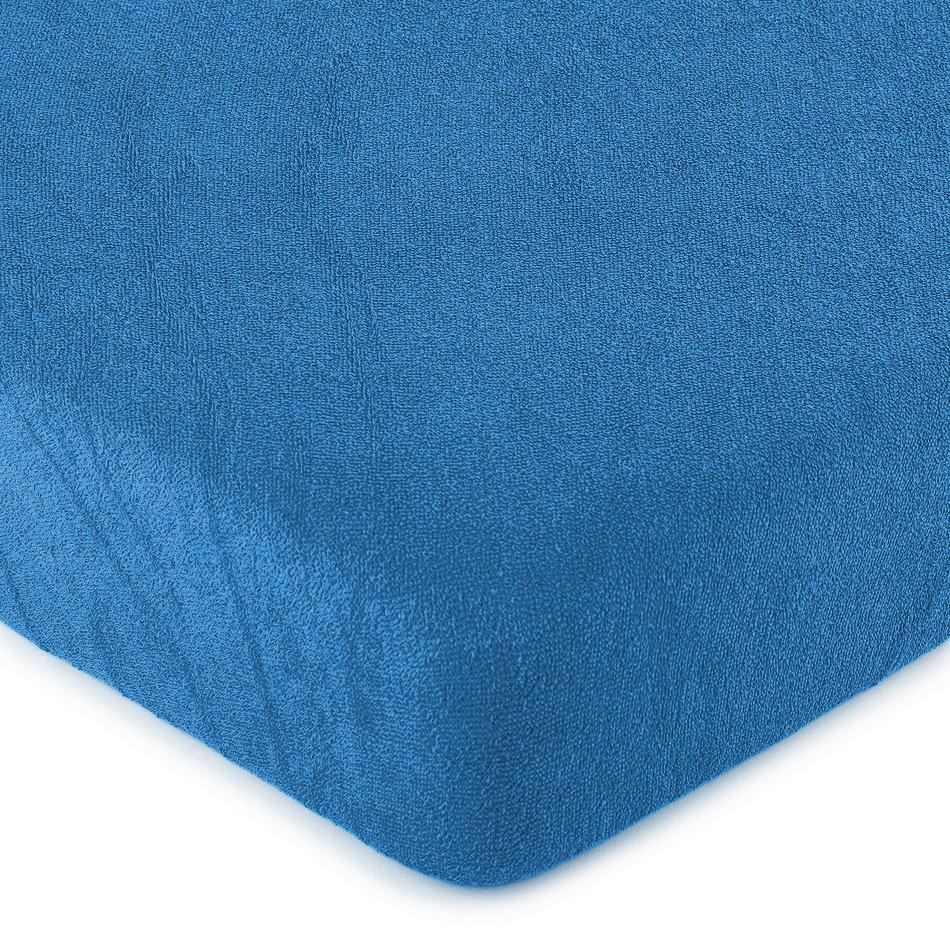 4Home froté prostěradlo modrá