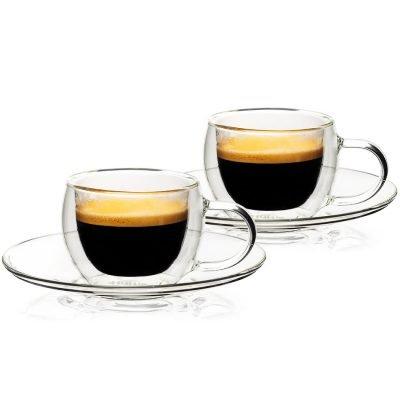 4home Termo sklenice na espresso Style Hot&Cool 80 ml