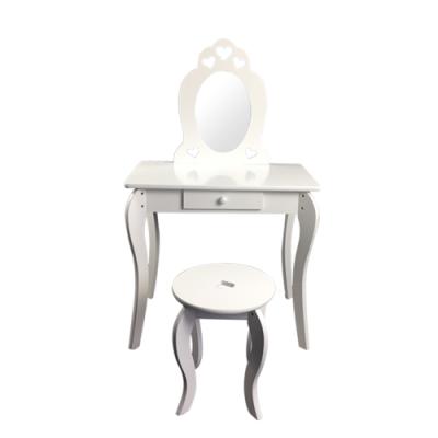 Dětský kosmetický stolek se zrcadlem Elza
