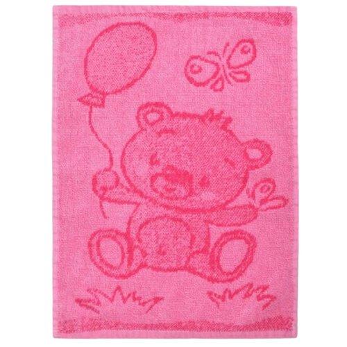 Dětský ručník Bear pink