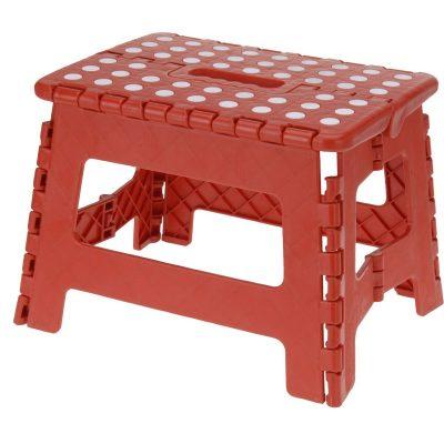 Koopman Skládací stolička červená