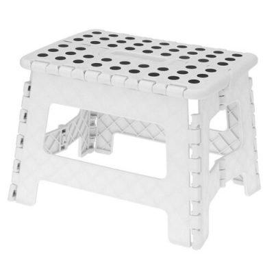 Koopman Skládací stolička bílá
