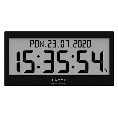 Lavvu LCX0011 digitální hodiny řízené rádiovým signálem Modig