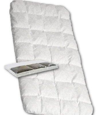 New Baby Dětská molitanová matrace do kočárku s pohankou