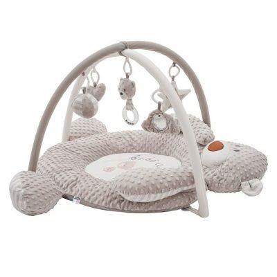 PlayTo Luxusní hrací deka z Minky s melodií medvídek
