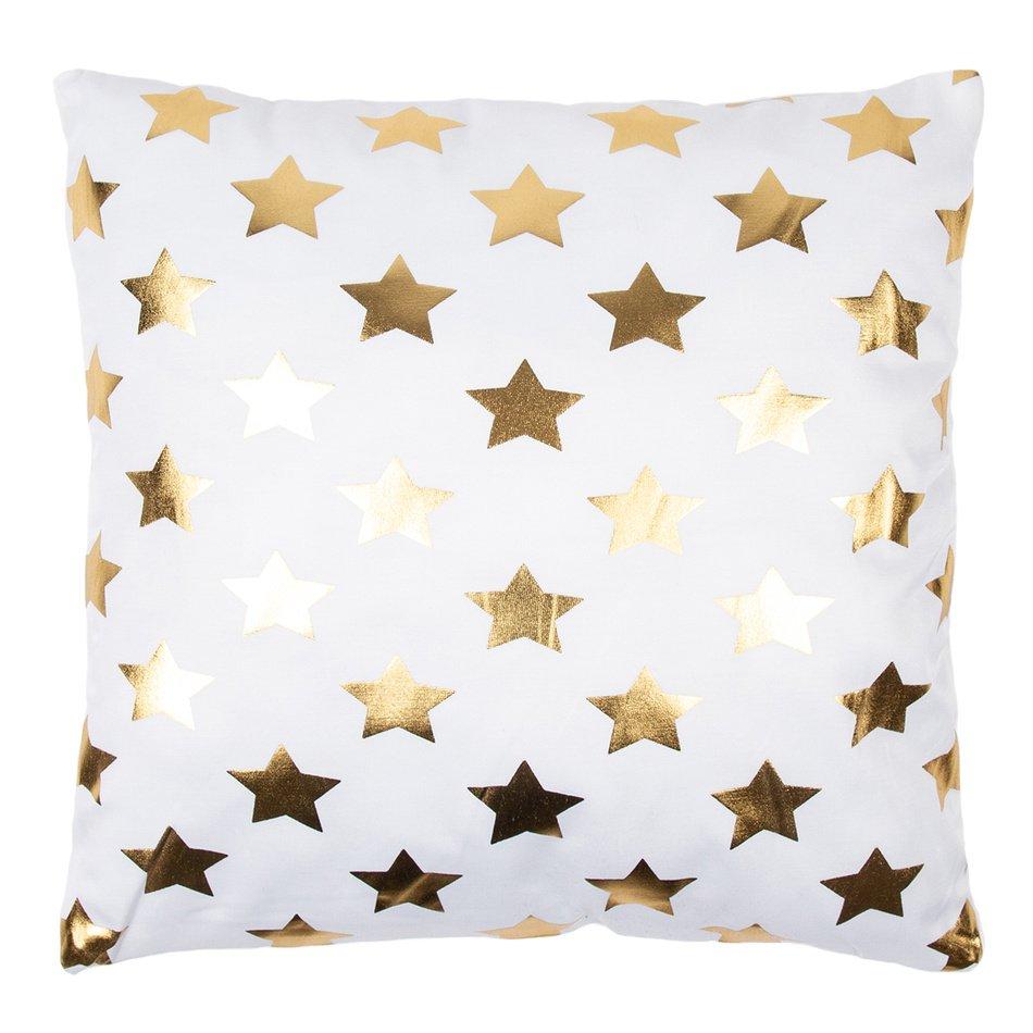 Polštářek Gold De Lux Hvězdy