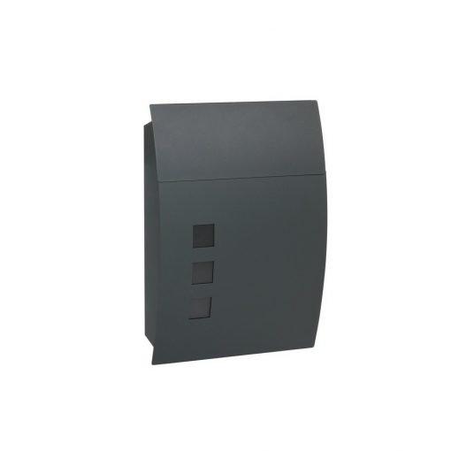 Poštovní ocelová schránka s okénky BK.931.G.AM